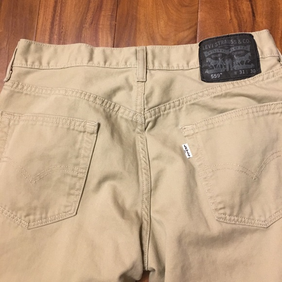 398cdc2b1fc Levi's Pants | Levis 559 Khaki | Poshmark